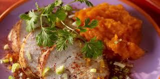 comment cuisiner un roti de dinde rôti de dinde aux épices et purée de carottes facile et pas cher