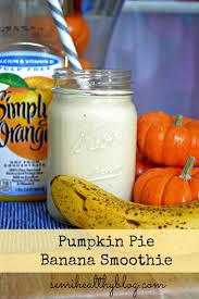Pioneer Woman Pumpkin Puree by Pumpkin Banana Smoothie Diy Pumpkin Puree