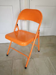 NEW - Metal Folding Chair - £8 | In Broadheath, Manchester | Gumtree Charles Bentley Folding Fsc Eucalyptus Wooden Deck Chair Orange Portal Eddy Camping Chair Slounger With Head Cushion Adjustable Backrest Max 100kg Outdoor Fniture Chairs Chairs 2 Metal Folding Garden In Orange Studio Bistro Lifetime Spandex Covers Stretch Lycra Folding Chair Bright Orange Minimal Collection 001363 Ikea Nisse Kijaro Victoria Desert Dual Lock Superlight Breathable Backrest Portable 1960s Retro Peter Max Style Flower Power Vinyl Set Of Flash Fniture Ty1262orgg Details About Balcony Patio Garden Table