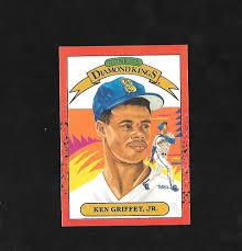 1990 Upper Deck Ken Griffey Jr by 1990 Donruss Ken Griffey 4 Baseball Card Ebay