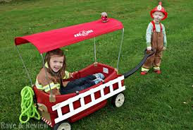 DIY Transform Your Wagon Into A Fire Truck