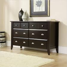 shoal creek dresser jamocha dressers bedroom furniture walmart in sauder dressers sauder