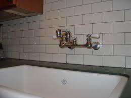 White Subway Tile Backsplash Home Depot by Decorating Transform Your Kitchen Or Bathroom With Backsplash