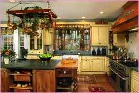 Kitchen Design Charming Brown Rectangle Rustic Wooden Decor Themes Varnished Ideas Exciting