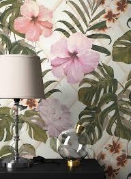 newroom vliestapete blumentapete grün palmen wallpaper floral blumen tapete pflanzen wohnzimmer schlafzimmer büro flur kaufen otto