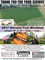 Pumpkin Picking Nj Corn Maze by Harvest Fest Weekend 10 14 15 Donaldson Farms