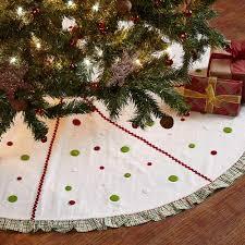 Whimsical Christmas Tree Skirt 48 Decor Seasons Crest