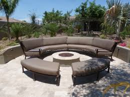 Outdoor Sectional Sofa Canada by Custom Curved Outdoor Furniture Sectional Sunbrella Fabric Hand