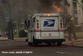 Mail Truck Catches Fire In Downtown Jackson - WBBJ TV Postal Worker Saves Mail Moments Before Fire Destroys Truck In Mobile Mailman From Burning Service Delivery Truck Matchbox Cars Wiki Fandom Powered Six Postal Trucks Damaged Chelsea Garage Abc7nycom Usps Driver Killed Crash After Vehicle Erupts Ken Blackwell How The Continues To Burn Money The Replacement For Grumman Llv Ar15com Semitruck Fire At Goleta Post Office Plant Edhat Poland Circa 1985 A Memorial Stamp Printed In Poland Flames Carrier Smells Gas While
