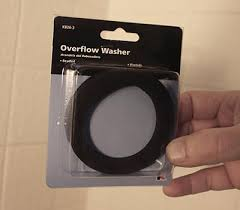 Bathtub Overflow Plate Gasket by Fix A Leaking Overflow Drain Extreme How To