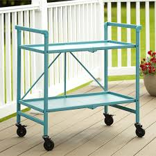 Cosco Home and fice Products Outdoor Folding Serving Cart