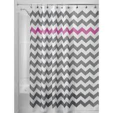 Gray Chevron Bathroom Decor by 47 Best Purple Chevron Shower Curtain Images On Pinterest