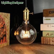 wholesale g125 vintage edison bulb led filament bulb 220v 4w t