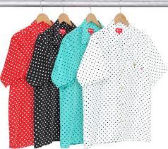 polka dot shirt supreme ss 16 pinterest polka dot shirt