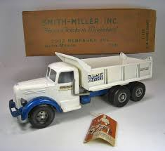Smith Miller Original 1952 LF Mack Blue Diamond Dump Truck Near Mint ...