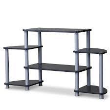 Baxton Simms Shoe Cabinet by Amazon Com Baxton Studio Orbit 3 Tier Tv Stand Kitchen U0026 Dining