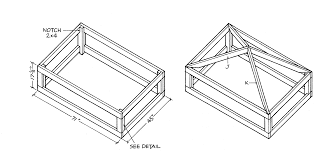 free outdoor kitchen pavilion wood plans part 2 free step by