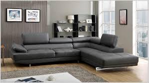 canape cuir gris canapé cuir gris anthracite idées de décoration à la maison