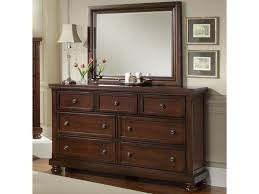 Vaughan Bassett Dresser With Mirror by Vaughan Bassett Reflections 7 Drawer Dresser And Mirror