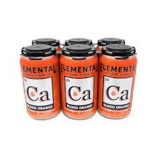 100 Elemental Seattle Calcium Blood Orange Cider