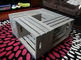 coffee table stunning create cook teach diy crate coffee table
