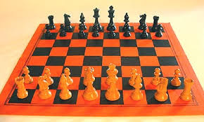 How The Pieces Are Set Up To Begin A Game Of Chess