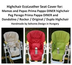 Upholstery Seat Cover For Peg Perego Prima Pappa Diner Original Rocker Extra