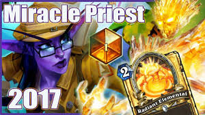 hearthstone miracle priest 2017 top 1 legend youtube
