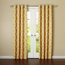 Amazon Yellow Kitchen Curtains by Amazon Com Best Home Fashion Room Darkening Blackout Moroccan