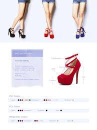amazon com women u0027s ankle strap platform pump party dress high