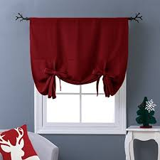 window curtains for kitchen amazon com