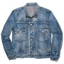 s m n m3001s jean jacket morrison blue in green soho