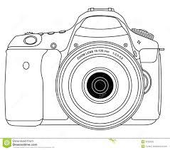 Photo Camera Stock Vector Illustration Of Snap Glass