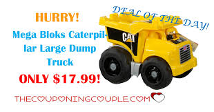 HURRY! Mega Bloks Caterpillar Large Dump Truck ONLY $17.99! Buy Mega Bloks Cat Large Vehicle Dump Truck In Cheap Price On 3 In 1 Ride On Man Christmas 27pc Cat Toy Set Stage Stores 12 Bsp Amazoncom Caterpillar Constructor Toys Games Lil Cnd88 From 2349 Nextag Mb Truck Platform Bx9 Factcool Bloks Push Along And Sitride Toy Articulated Trade Me