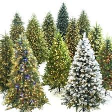 Noble Fir Artificial Christmas Tree Trees Blue
