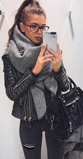 Leather Jackets Are Perfect For Winter Date Night Outfits