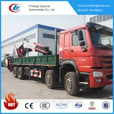 100 Used Log Trucks For Sale Hot Howo Promotional 8x4 New 25 Ton Mobile Crane Truck Telescopic Boom Truck Mounted Crane Buy Truck Mounted CraneHigh Quality And Low