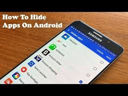 How To Hide Apps Galaxy S7 Galaxy S7 Edge Note 5 Android