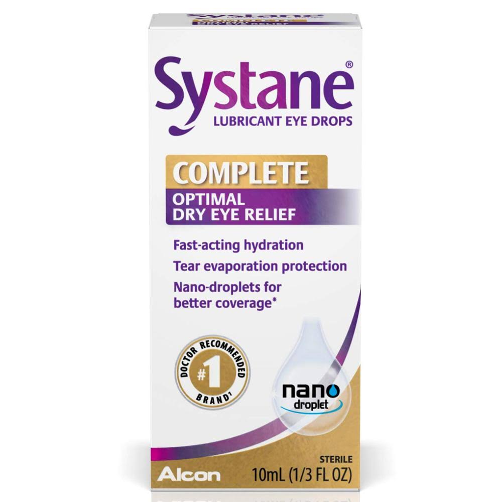 Systane Complete Optimal Dry Eye Relief Drops - 10ml