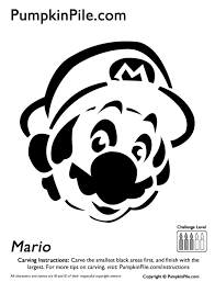 Mario Pumpkin Stencil by Pumpkin Carving Made Super Easy By These Printable Patterns