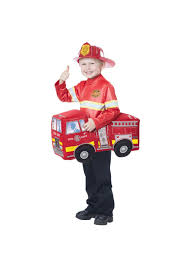 Firetruck Rider Boys Costume - Boys Costumes | Kids Halloween Costumes