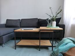 fantastic pictures ikea hack nesting tables in wood