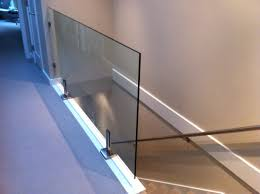 Glass Railings Super Interior Railing With All Clamps. Home ... Roof Tagged Ideas Picture Emejing Balcony Grill S Photos Contemporary Stair Railings Interior Wood Design Stunning Wrought Iron Railing With Best 25 Steel Railing Design Ideas On Pinterest Outdoor Amazing Deck Steps Stringers Designs Attractive Staircase Ipirations Brilliant Exterior In Inspiration To Remodel Home Privacy Cabinets Plumbing Deck Designs In Modern Stairs Electoral7com For Home