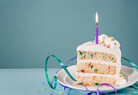Slice of Birthday Cake stock photo 1808