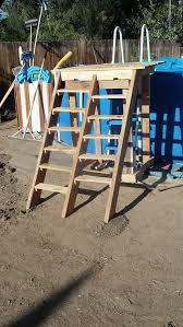 Pallet Pool Deck Supplies Caddy Other Projects Pallets In The Garden