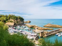 port des pecheurs biarritz port des pecheurs at biarritz basque country editorial stock
