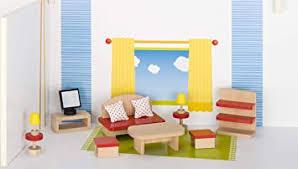 cama24com puppenmöbel wohnzimmer aus holz goki basic