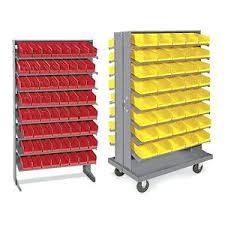 U Line Storage Bins Rs Pro Blue Plastic Bin X In