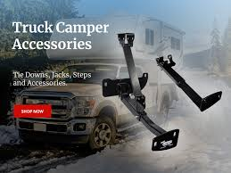 100 Truck Camper Steps Accessories Tie Downs Trailer Stabilizer