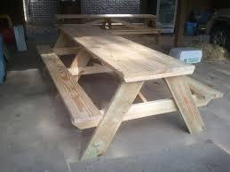 100 8 ft picnic table plans free ana white picnic table